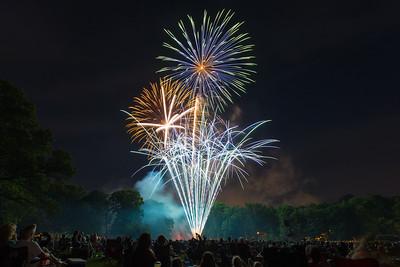 Long's Park Fireworks