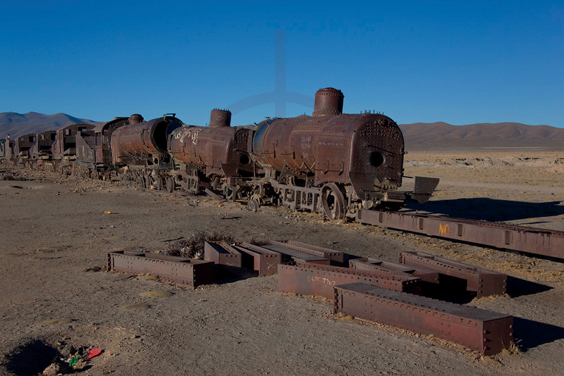 Train cemetry, Uyuni, Potosí, Bolivia