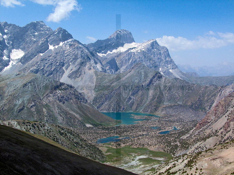 Kul-i Kalon Lakes, Zerafshan Range/Fan Mountains, Tajikistan