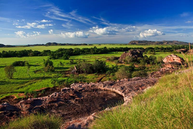View from Ubirr Lookout, Kakadu National Park, Northern Territory, Australia