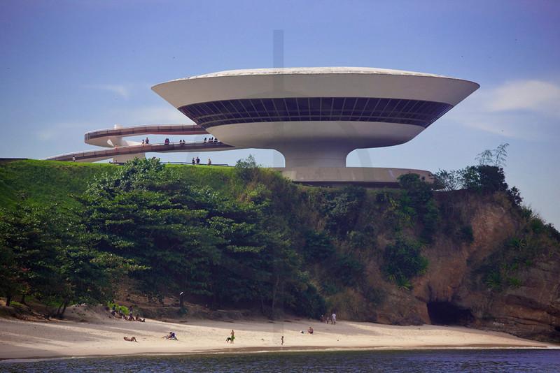 Museum of Contemporary Art, Niterói, Rio de Janeiro State, Brazil