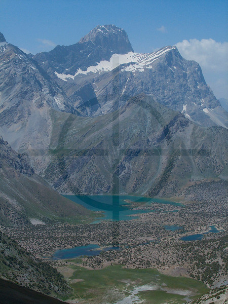 Kul-i Kalon Lakes, Zerafshan Range/Fan Mountains, Tajikistan