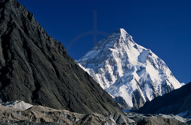 K2 as seen from Concordia, Baltistan, Pakistan