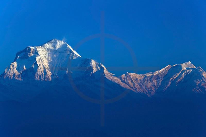 Dhaulagiri I and Tukuche Peak, Nepal