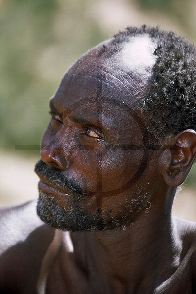 Portrait of the blacksmith in Maralal, Kenya