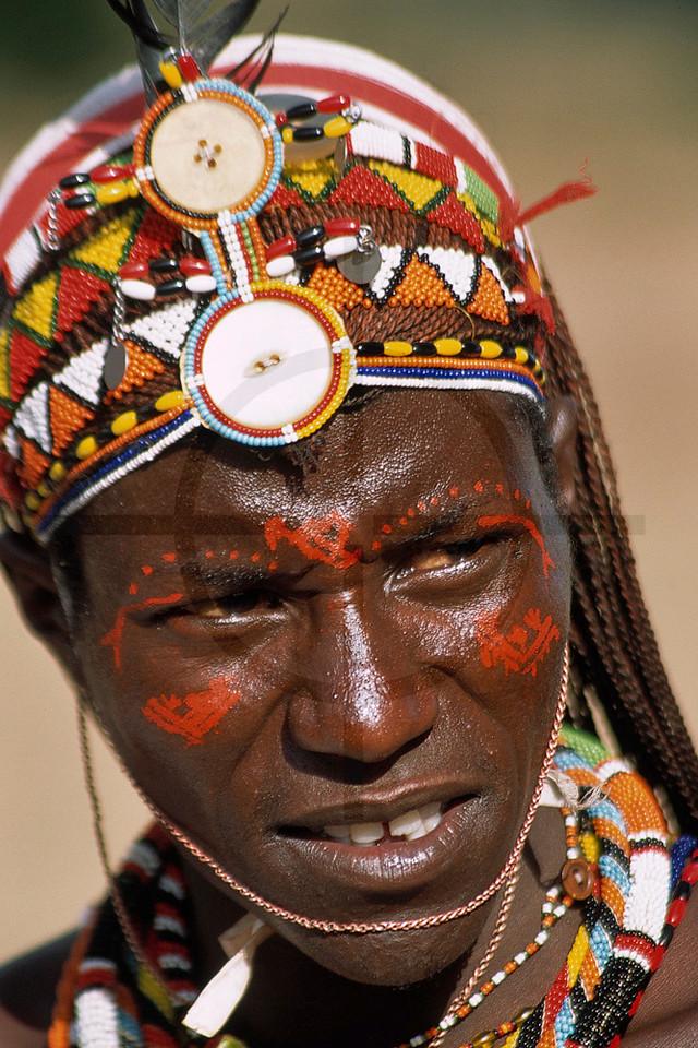 Samburu moran, Maralal, Kenya