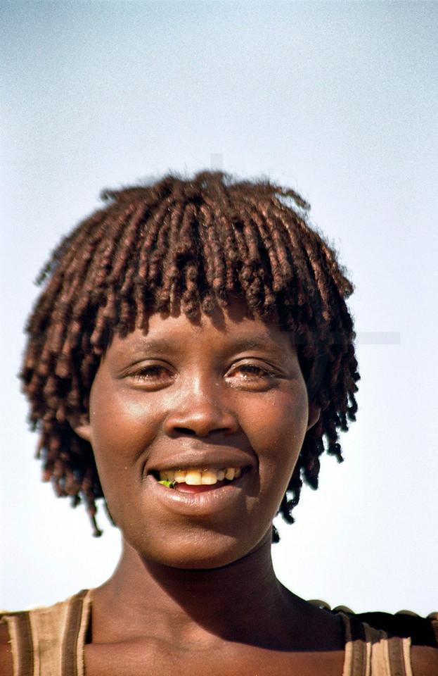 Hamer girl, Southern Ethiopia