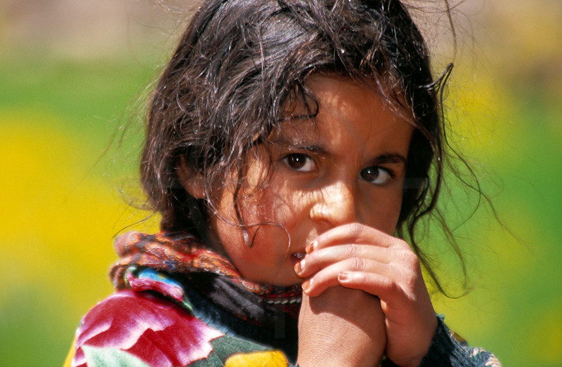 Berber girl, M'Goun area, High Atlas, Morocco