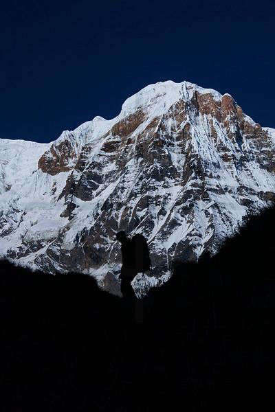 Entering Annapurna Sanctuary, Nepal