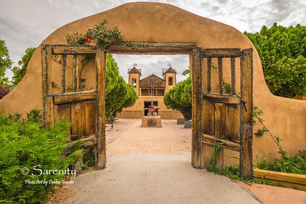 Through Hallowed Gates, Santurio de Chimayó, Chimayó, NM