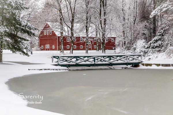 Sycamore Farm Barn Winter