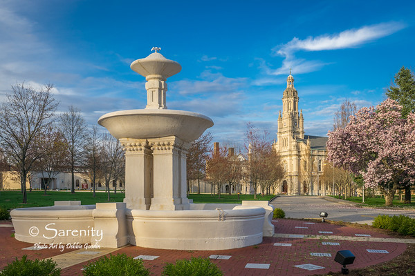 Historic Spring View, Historic Fountain and Church of the Immaculate Conception