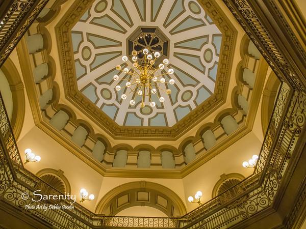 Vigo County Courthouse Dome