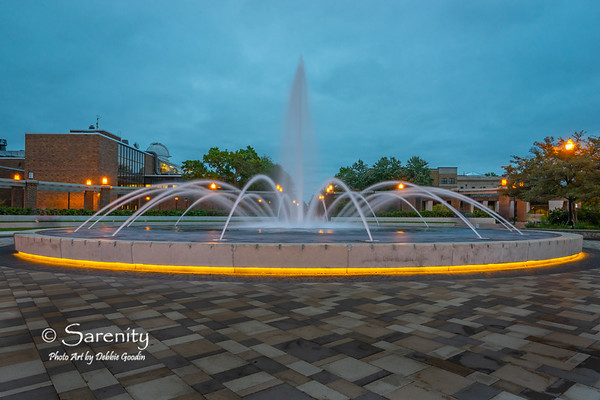 The Fountain, Indiana State University Campus, Terre Haute, IN