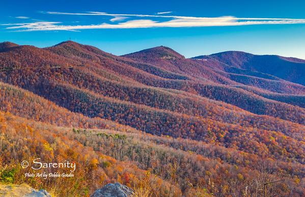 Mountain Layered, Pounding Mill Overlook