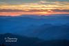 Sunset - Cowee Mountains Overlook
