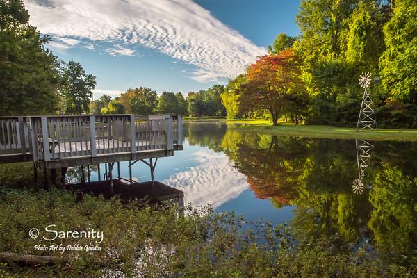 Clouds Guiding Light, Dobbs Park, Terre Haute, IN, Vigo County
