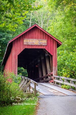 Bean Blossom Bridge, Bean Blossom, IN, Brown County