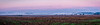 A blanket of fog lays over the distant land in this panoramic photo of Western Clay County early one morning!