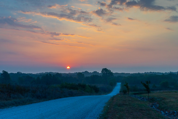 Country Road Sunrise