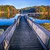 Pier to Autumn Colors, Shakamak State Park, Jasonville, IN, Green/Sullivan/Clay Counties