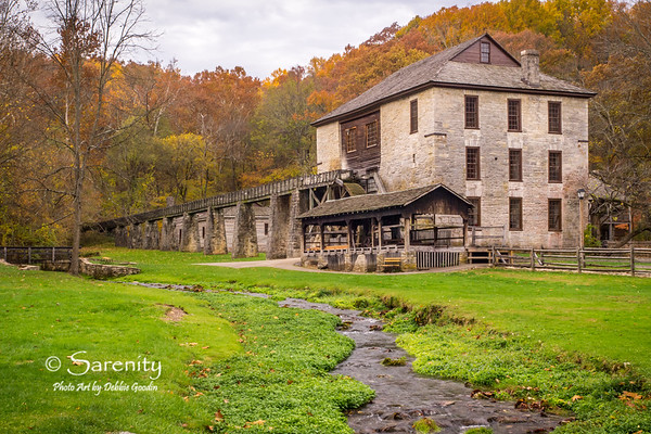 Autumn at the Mill, Spring Mill State Park