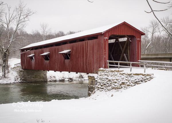 Cataract Bridge - Winter