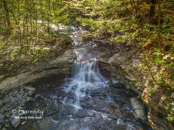The beautiful McCormick's Creek Falls in early Spring!