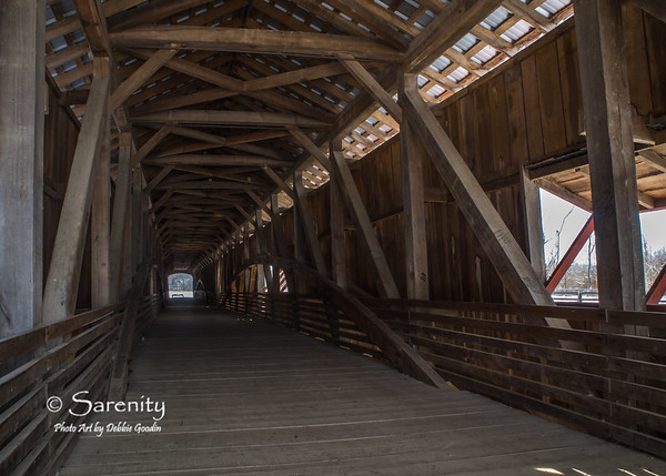 Inside the Bridgeton Bridge