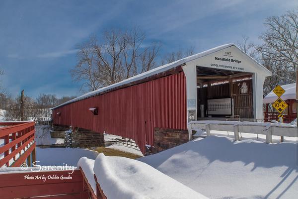Mansfield Bridge - Winter White
