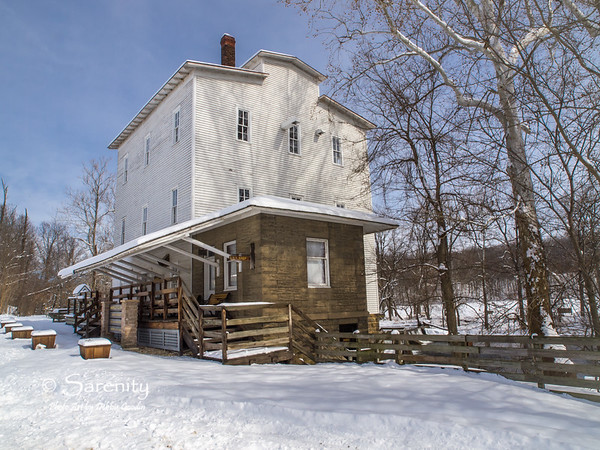 The historic Mill built in 1819.