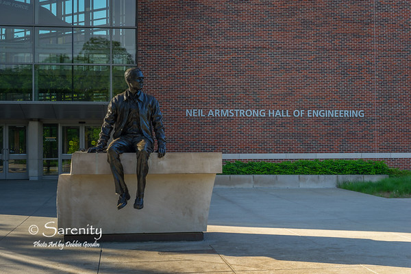 Neil Armstrong Sculpture by Artist Chas Fagan, from Charlotte, N.C.