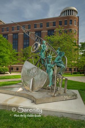 Distant Paths Sculpture by Preston Jackson