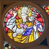 Choir Loft Rose Detail - St. Gregory
