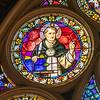 South Wall Rose Detail - Saint Thomas Aquinas