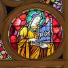 Choir Loft Rose Detail - St. Cecilia