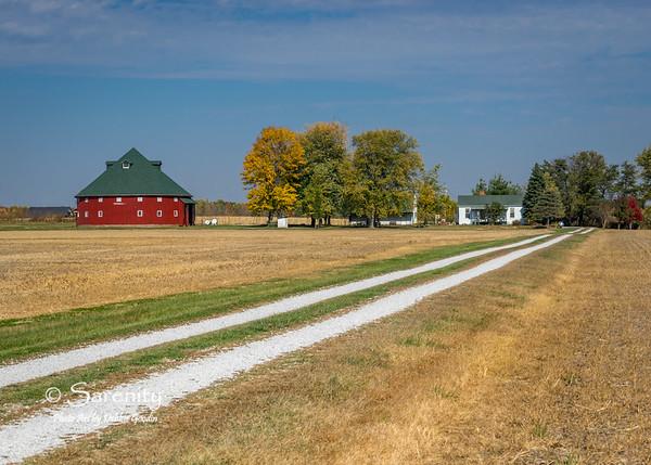 Crandell Round Barn