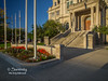 The front of the Vigo County Courthouse bathed in morning light!