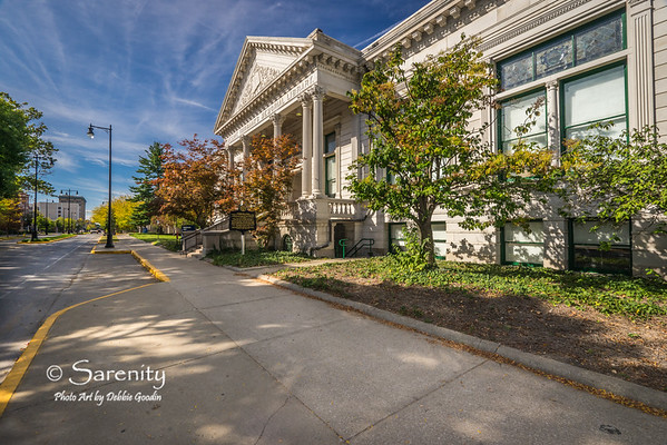 Emeline Fairbanks Memorial Library, (Fairbanks Hall) Indiana State University Campus