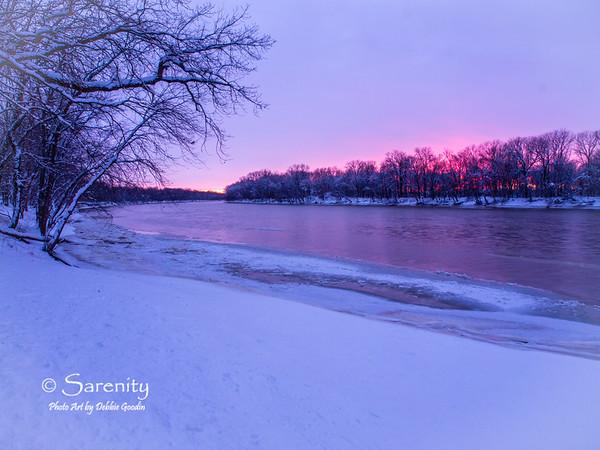 Wabash Winter Sunset