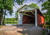 This covered bridge is located in Fowler Park in Vigo County, IN!