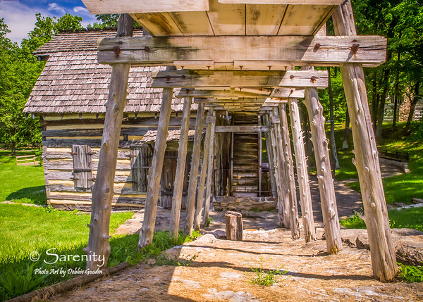 The mill, located in the Pioneer Village in Fowler Park!