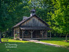 Another log building located in the Pioneer Village inside Fowler Park in Vigo County, IN!