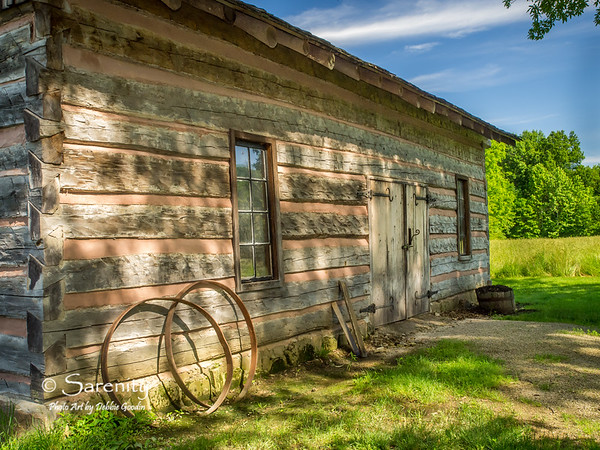 The Blacksmith shop located in the Pioneer Village at Fowler Park in Vigo County, IN!