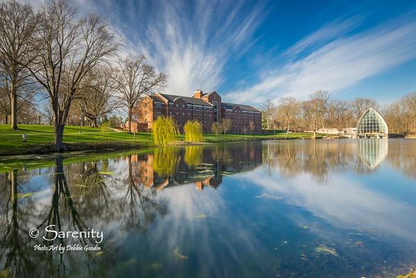 Percopo Hall, Speed Lake and White Chapel
