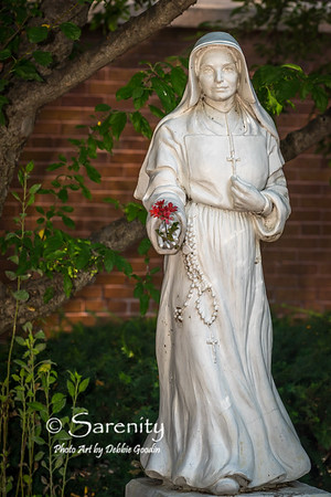 Mother Theodore Guerin Statue
