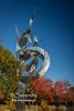 Flame of Millenium sculpture