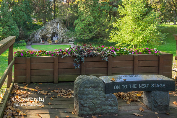 Autumn at the Grotto of Our Lady of Lourdes