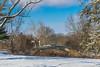 Lake LeFer Bridge - Winter