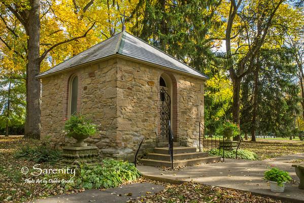 Shell Chapel's Autumn Canvas